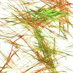 Original Modern Abstract Painting -- Spring green and Burnt Orange Energy -- Contemporary Expressionism ---- 5949.060609 